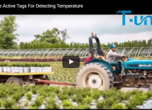 RFID Temperature Active Tags For Detecting Temperature
