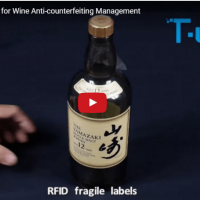 RFID Security Label/Tag for Wine Anti-counterfeiting Management