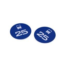 DESfire Ev1 4K la etiqueta RFID del Metro moneda