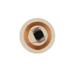 Etiqueta/pegatina adhesiva y claro de PVC RFID