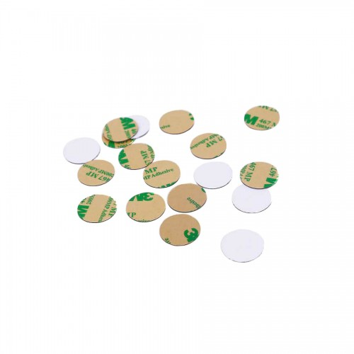 ISO14443 13.56Mhz MF1 S50 RFID PVC Coin Tag Dia 13mm for warehouse managementRFID Disc Tagsxyt-2910.00