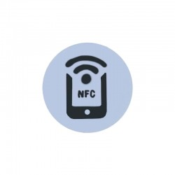 Small Size Printing RFID Coin Tag