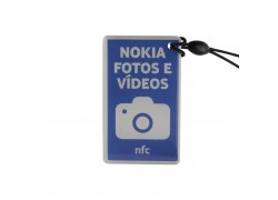 etiqueta de epoxi NFC de Topaz512