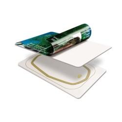 13.56 mhz MF DESFire EV1 4K PVC tarjeta inteligente para el transporte