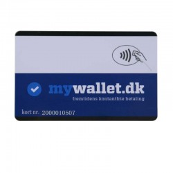PVC Smart Card Desfire 4K ISO14443A TYPE4