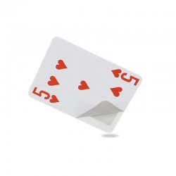 RFID NFC Poker playing card with Ultralight Chip