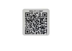 Anti-metal Ultralight C NFC sticker with QR code