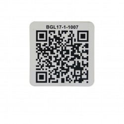 Anti-metal Ultralight C NFC sticker with QR code