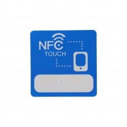 13.56MHZ MF08 1Kbytes NFC chip sticker