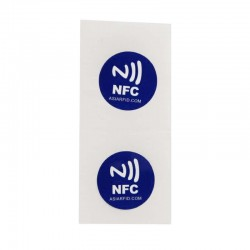 Custom programmable rfid nfc sticker with Ntag213 chip for Mobile payment