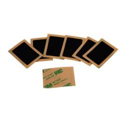 ISO15693 ICODE SLI X PVC negro etiqueta de NFC