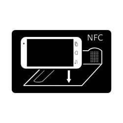 NFC Tag Google Cartón