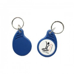 13.56MHz ABS type 2 Ntag213 NFC key FOB with LOGO