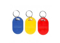 ABS Rewritable T5577 keyfob for access control