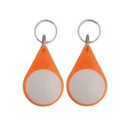 RFID Classic waterproof ABS Material Passive key tags /keychain/ key fob