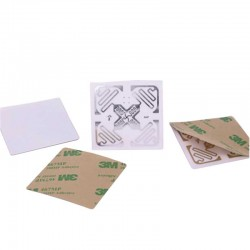 3M Adhesive UHF RFID Label Monza4QT H47