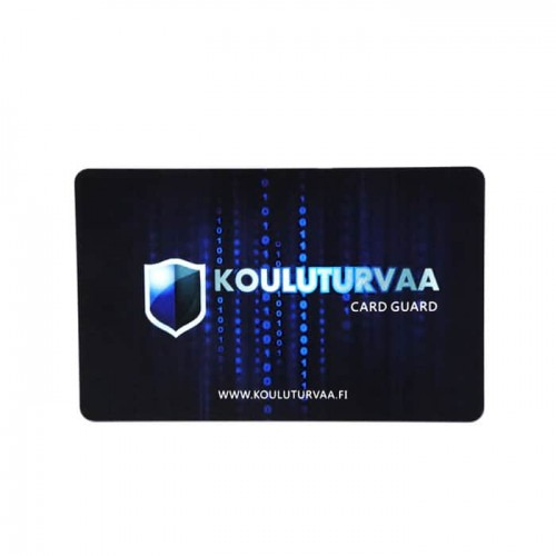Custom RFID Blocking Card For Credit & Debit Card ProtectionRFID Special Cardsmike0.00