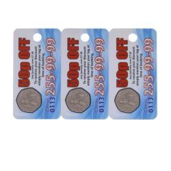 Fabricante de 3UP Barcode Combo Tarjetas clave