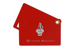 Printing Plastic Card for Airline Luggage Tag