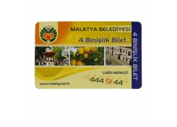 UHF RFID PVC Cards 860-960Mhz ISO18000-6C