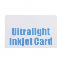 Ultralight Inkjet Card directly printed by Epson or Canon printer