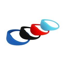 Access Control ICODE SLI-X Silicone RFID Bracelet/Wristband ISO 15693