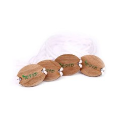 Eco-Friendly 13.56MHz Ultralight EV1  NFC Wood Tag Wristband For Resort Access Control