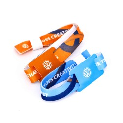HF F08 RFID Event Wristband Snap Closure