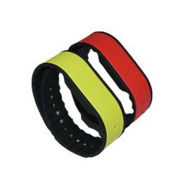 ISO18000-6C 860~960 MHZ Long Range Silicone UHF RFID Wristband
