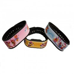New Style 13.56MHZ Compatible 1K RFID Silicone Wristband With Logo
