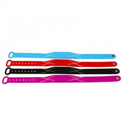 Silicone Material 13.56MHz ISO 14443A Fudan F08 1K Adjustable RFID Bands