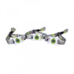 Woven RFID Wristband Compatible 1K