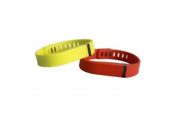 13.56MHZ F08 NFC Tags ISO14443A Silicone NFC Wristband Bracelet