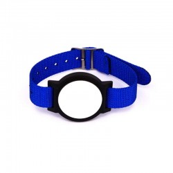 13.56mhz multi-functional nylon RFID NFC ntag213 smart wristband for Music festival