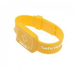 Colorful Customized Logo 13.56MHz Ultralight C RFID Wristband