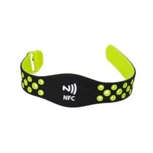 Colorful Printed RFID Wristbands Personalized silicone bracelet