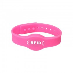 Colorful Support 125khz/ 13.56Mhz/ 860- 960Mhz RFID Silicone Wristband For Party