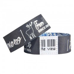Customized Logo Polyester Elastic RFID Wristband