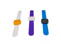 Dual Frequency HF+UHF Slap RFID Wristband
