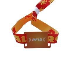 MF 1K PVC RFID Wristband Adjustable