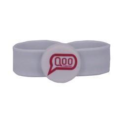 MF Desfire 2K Slap RFID Silicone Wristband