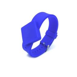 Silicone 125Khz RFID Wristbands Cabinet Lock Key Buckle Bracelets LF Wrist Strap