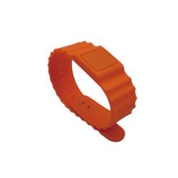 Cinturón de silicona ajustable Ultralight C Hebilla 13.56MHz RFID