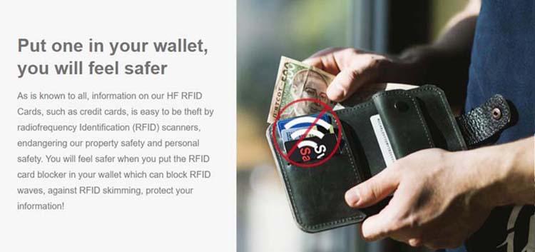 rfid blocking card brand